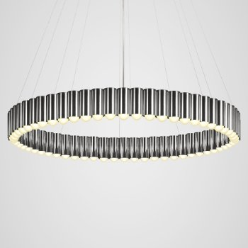 Shown in Polished Chrome finish, Large size, lit