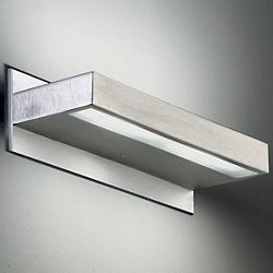 Alias 15/35 Wall Lamp (Satin Steel/Large) - OPEN BOX RETURN