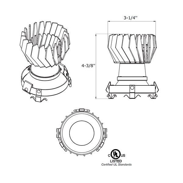 Baia LED Recessed Lighting Kit