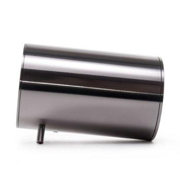 Shown in Steel finish