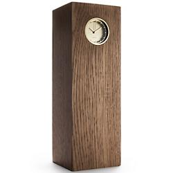 Tube Wood Clock