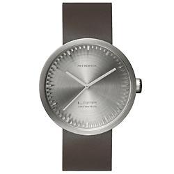 Tube Watch D42 (Brown Leather/Steel) - OPEN BOX RETURN