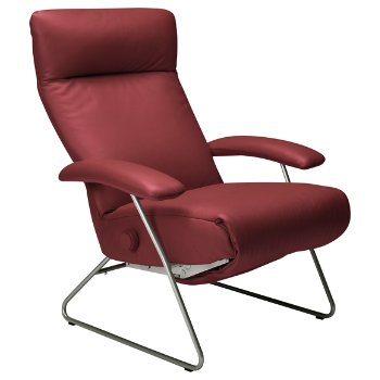Shown in Red leather