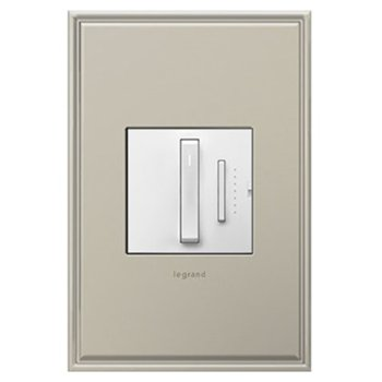 Shown in White finish (wallplate sold separately)