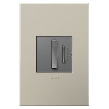 Shown in Magnesium finish (wallplate sold separately)