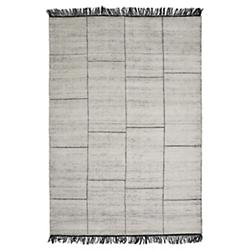 Catania Rug (White/Black/9 ft 8 in x 6 ft 6 in) - OPEN BOX