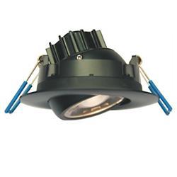 Eyeball Gimbal LED 3 Inch Round Trim
