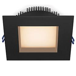 Regressed Plenum 6 inch LED Square Trim