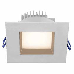 4 inch Square Regressed Trim (White/2700 K)-OPEN BOX RETURN