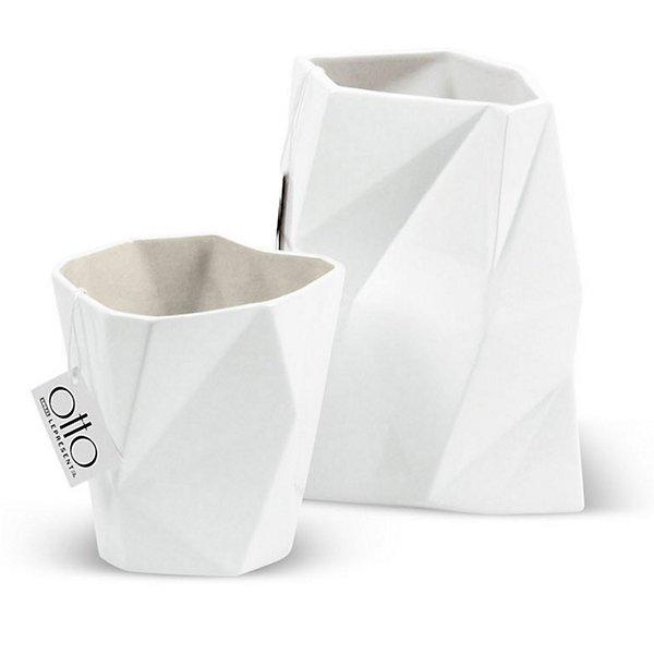 Facet Ceramic Vase