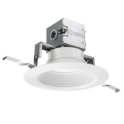 OneUp 6-inch Round Direct-Wire LED Downlight