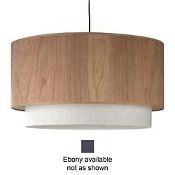 Woody Pendant (Ebony/Ivory Ipanema) - OPEN BOX RETURN