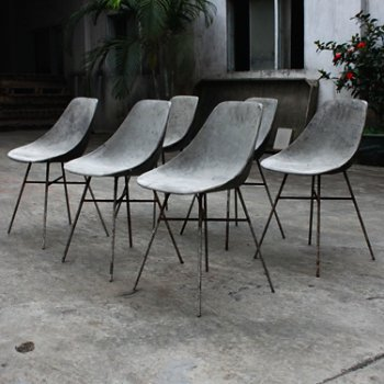 Hauteville Chair, use outdoors