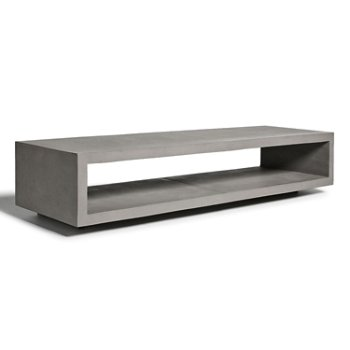 Monobloc TV Bench with Wheels