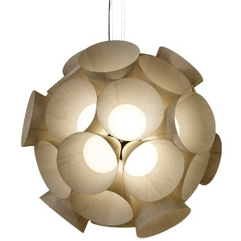 Shown in Ivory White shade, lit