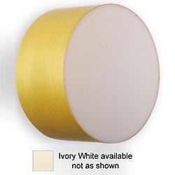 Gea Wall/Ceiling Light (Ivory/Small/Fluorescent) - OPEN BOX