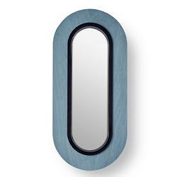 Lens Oval LED Wall Sconce – Blue