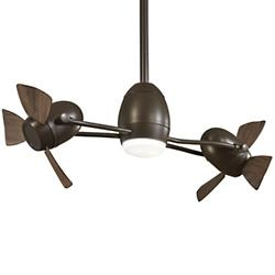 Gyro Cage Free LED Ceiling Fan