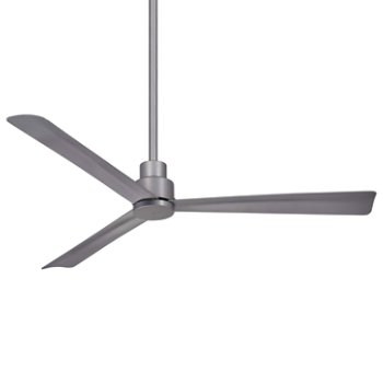 Shown in Silver Fan Body and Blade Finish, 52 Inch