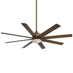 Slipstream Ceiling Fan (Koa with Opal) - OPEN BOX RETURN