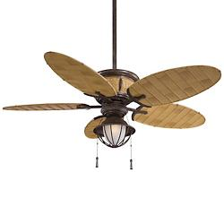 Shangri-La Ceiling Fan (Vintage Rust) - OPEN BOX RETURN