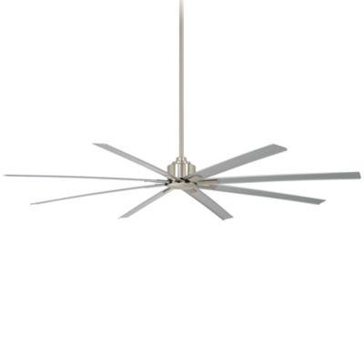 Brushed Nickel ceiling fan for high ceilings