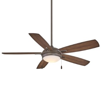 Shown in Oil Rubbed Bronze with Dark Pine blades Fan Body and Blade finish