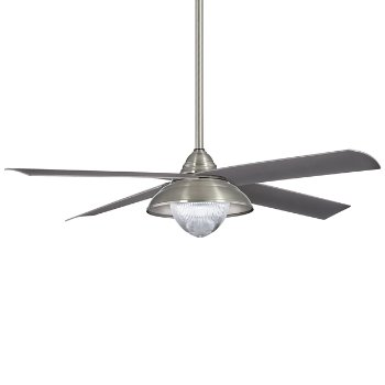 Shown in Brushed Nickel Wet with Silver blades