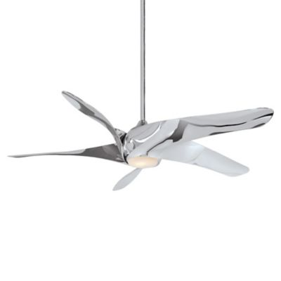 Acero ceiling fan with light by minka aire fans at lumens artemis xl5 led ceiling fan aloadofball Images