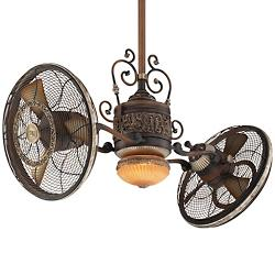 Traditional Gyro Ceiling Fan - OPEN BOX RETURN