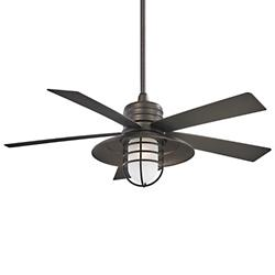 Rainman Ceiling Fan (Smoked Iron) - OPEN BOX RETURN