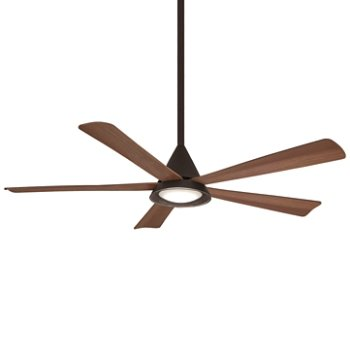 Shown in Oil Rubbed Bronze Fan Body and Blade Finish