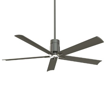 Shown in Grey Iron/Brushed Nickel with Grey Iron blades finish