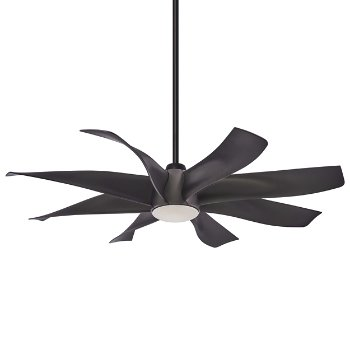 Shown in Graphite Steel Fan Body and Blade Finish
