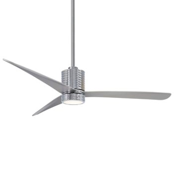 Shown in Chrome with Silver Fan Body and Blade Finish