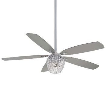 "Bling LED 56"" Fan"
