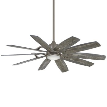 Shown in Burnished Nickel with Savannah Gray Blades finish