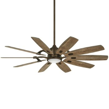 Shown in Heirloom Bronze with Barnwood Blades finish