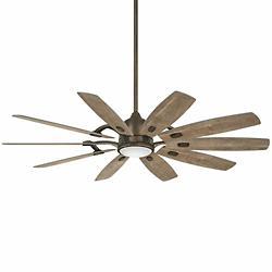 Barn Ceiling Fan (Bronze w/ Barnwood Blades)-OPEN BOX RETURN