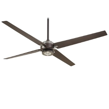Oil Rubbed Bronze/ Brushed Nickel with Oil Rubbed Bronze Blades finish