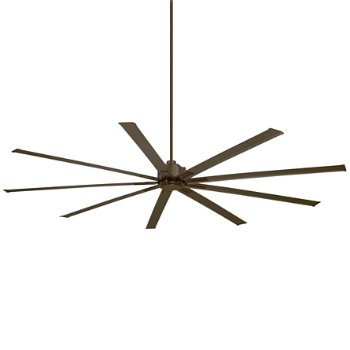 Shown in Oil Rubbed Bronze with Oil Rubbed Bronze Blades finish