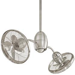 Gyrette Ceiling Fan (Brushed Nickel) - OPEN BOX RETURN