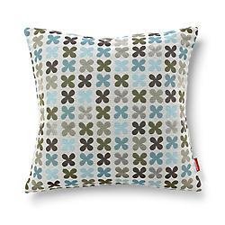 Quatrefoil Pillow, Silver