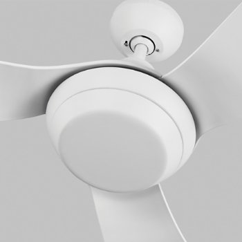 Shown in Rubberized White finish with light cap