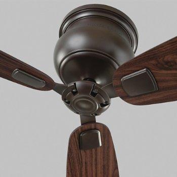 Shown in Bronze with American Walnut blades