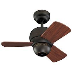 Micro 24 Ceiling Fan (Roman Bronze/Teak) - OPEN BOX RETURN