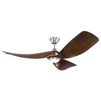 Shown in Brushed Steel with American Walnut blades