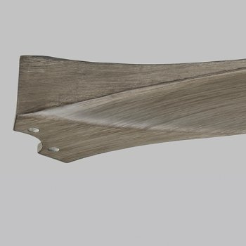 Shown in Light Grey Weathered Oak, Detail view