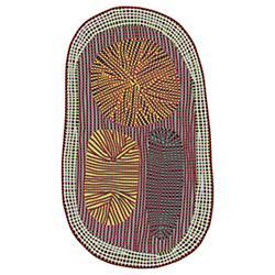 Amoeba Rug