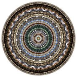 Mexico City Round Rug